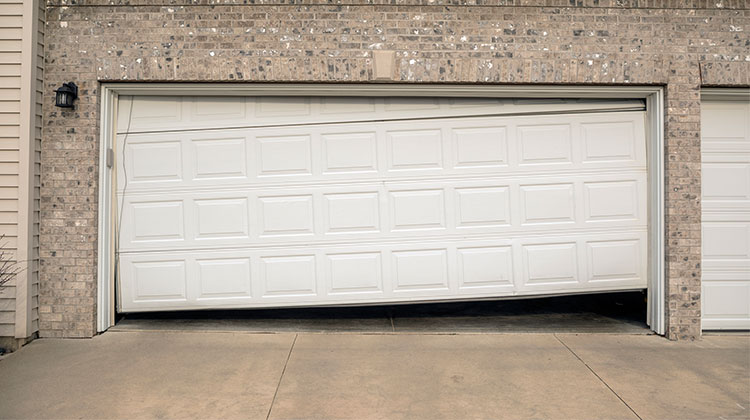Overhead door repair in Huntley, IL, done right